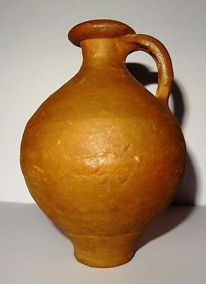 Krug Gallo-Römischer aus Terrakotta - 100 Ad- Ancient Gallo-Roman Terracotta Jug