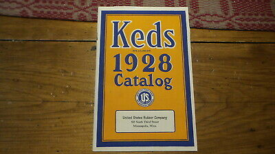 Antique 1928 Advertising KEDS CATALOG Athletic Shoes U.S. Rubber Co.Sneakers