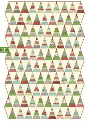 Holly's Tree Farm Quilt Kit by Sweetwater for Moda