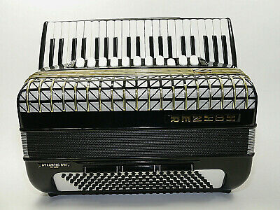 Akkordeon , Hohner Atlantic IV N, 120 Bass