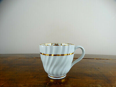 Antique Caughley Porcelain Coffee Cup Can English 18th Century Georgian c1790