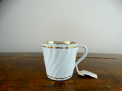 Antique Chamberlains Worcester Porcelain Coffee Cup Can English 18th Century