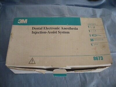 3m dental electronic anesthesia system injection assist system 8673