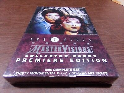 The X Files Topps Master Visions Complete Set Factory Sealed Art Cards Xfiles