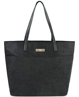 Boss Hugo Boss Parfums For Her Tote Bag Black w Pink Interior New