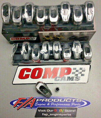 COMP Cams 17001-1 High Energy Die Cast Aluminum Roller Rocker Arm with 1.5 Ratio and 3//8 Stud Diameter for Small Block Chevrolet
