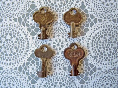 Ornate Old Antique Vintage Keys Lock Box Door Key Charm Small Rustic Home Decor