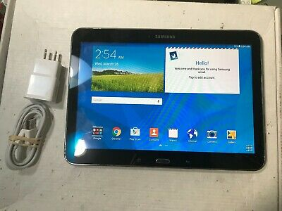 Samsung Galaxy Tab 4  SM-T530NU  16GB,  Wi-Fi, 10.1in  Black Loss Paint #2