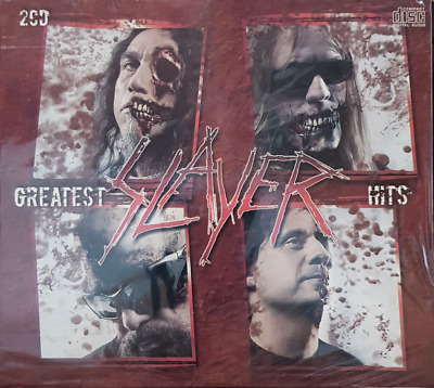 Slayer ‎– Greatest Hits  -  GREATEST HITS COLLECTION -brand new & sealed