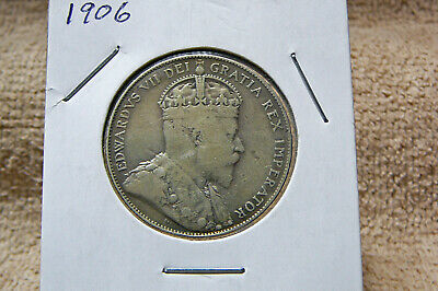 1906 Canada king Edward VII Fifty cent