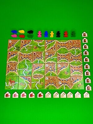 Carcassonne Expansion: Traders & Builders - Brand New - English Rules - No Box