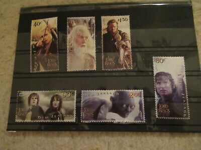 NEW ZEALAND 2003 LORD OF THE RINGS SET OF 6 stamps