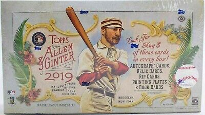 2019 Topps Allen & Ginter Hobby Box - Factory Sealed - 3 Hits *
