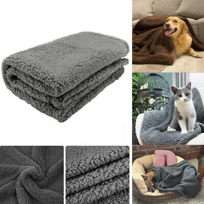 Pet Dog Bed Blanket Throw Extra Large Soft Cosy Warm Fleece Puppy Cat Blanket