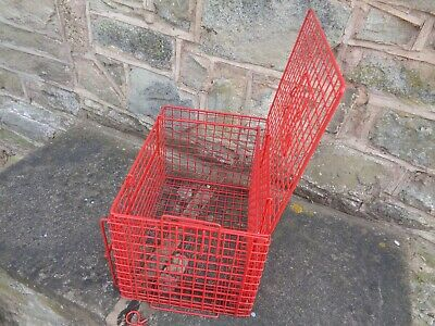 Restraining Crush Basket Cats Wire  Top End Loading Plastic Coated Hygienic Man