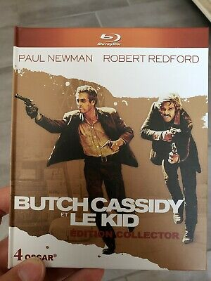 BLU RAY + DVD collector BUTCH CASSIDY ET LE KID + livret Redford
