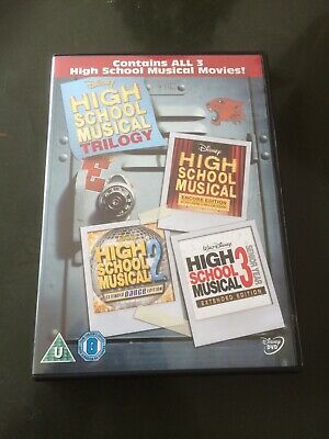 High School Musical DVD 1-3