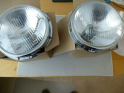 Healey 100 BN2 Lucas Le Mans 7″ Headlamps