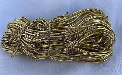 "50 Qty Gold 16/"" Stretch Elastic Cord Loops for Gift and Jewelry Boxes"
