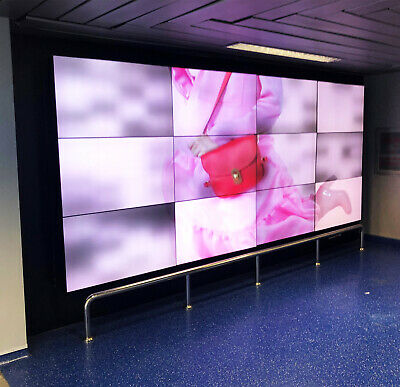 "174"" Leinwand 4x3 XXL Events Public Viewing Videowand Display Set 12 x 46"" Eyevi"