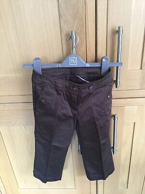 next girls trousers Age 8 3/4 Length