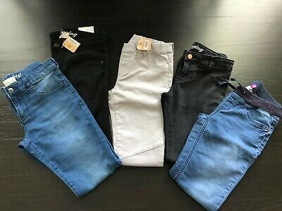 Crazy 8 So brand Size 12 Girls Jeans Leggings Lot of 5 NWT NWOT