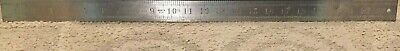 Starrett No. 414-2 Steel General Utility Rule 24 Inch English Pattern Tempered