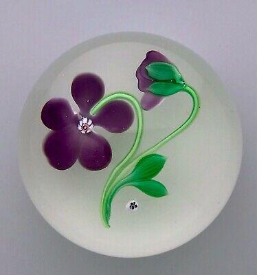 Baccarat Flower Paperweight 1973