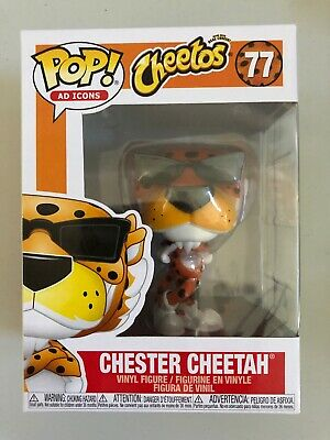 Funko Pop Ad Icons #77 Chester Cheetah Cheetos In Hand