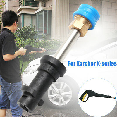 Compact Quick Release Conversion Pressure Washer Adaptor For Karcher K-series
