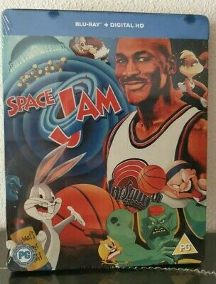 Space Jam  Steelbook blu ray audio ITA sigillato