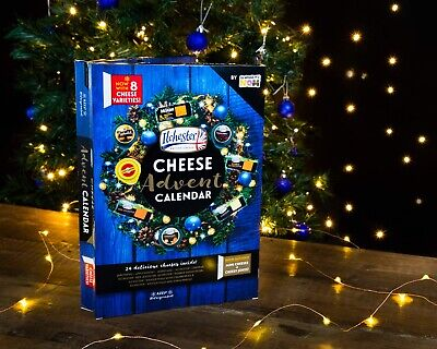 Ilchester Cheese Advent Calendar 2019 - A cheese a day for 24 days - Fast Post!!