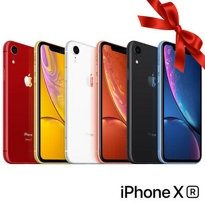 SMARTPHONE APPLE IPHONE XR 128GB DUAL SIM VARI COLORI 6.1 iOS 12 ORIGINALE