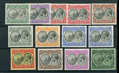Dominica KGV 1923-33 short set to 1s  SG71/83 MNH