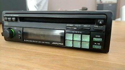 Rare Vintage old school Radio Alpine CD player 7803ms