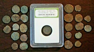 Lot of 25 Ancient Copper Roman Coins