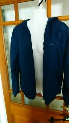 Women/'s Canada Weather Gear Heavyweight Hooded Bomber Jacket Red M #NJG2V-615