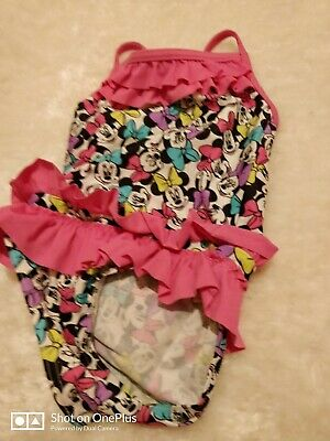 Lovely girls multi fashion swimming costume age 9-12 mths