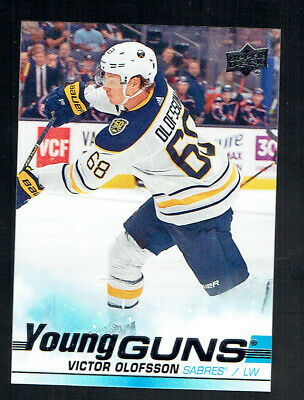 2019-20 Upper Deck Series 1 Victor Olofsson Young Guns Rookie Rc #207 19-20