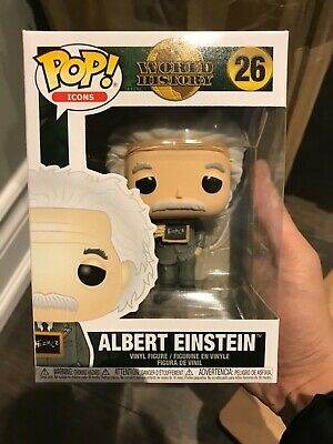 **IN HAND** Funko Pop! Icons World History Albert Einstein #26