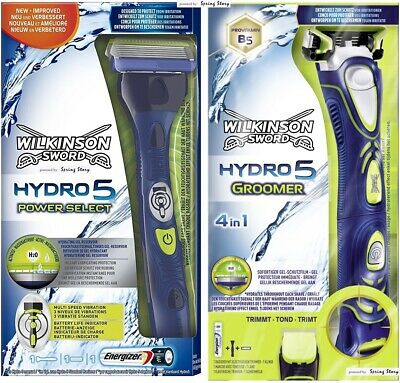 WORLD Wilkinson Sword Hydro 5 POWER Multi-Speed Vibration Razor Trimmer Groomer