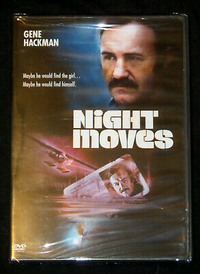NEW Night Moves (DVD, 1975) Gene Hackman, Jennifer Warren, Thriller Rare SEALED