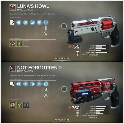 Destiny 2 Lunas Howl and Not Forgotten Recovery PS4 (Full Quest)