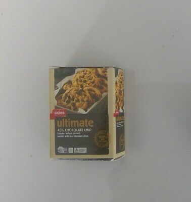 COLES LITTLE MINI SHOP 2 COLLECTABLES - Coles Ultimate Choc Chip Cookies