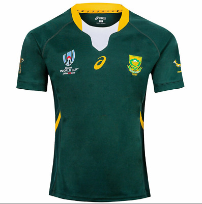 New Hot South Africa Rugby World Cup Home Shirt 2019 Rwc Adult Jersey