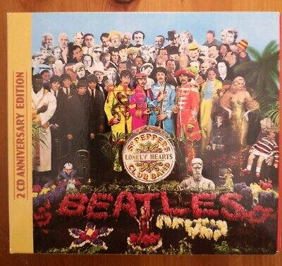 The Beatles Sgt. Pepper's Lonely Hearts Club Band 50th ANNIVERSARY  2 CD (2017)