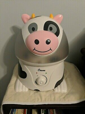 Crane Cow Child Boy Girl Baby Kid White Humidifier