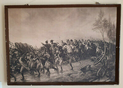 Carrick Gow Napoleon Nach Waterloo After Waterloo Sepia Photogravure 90x64 cm