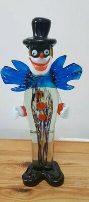 Vintage Italian Murano Glass Clown