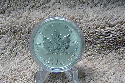 "2014 Five dollar Silver Maple Leaf "" 43rd World Money Fair, Berlin Germany """